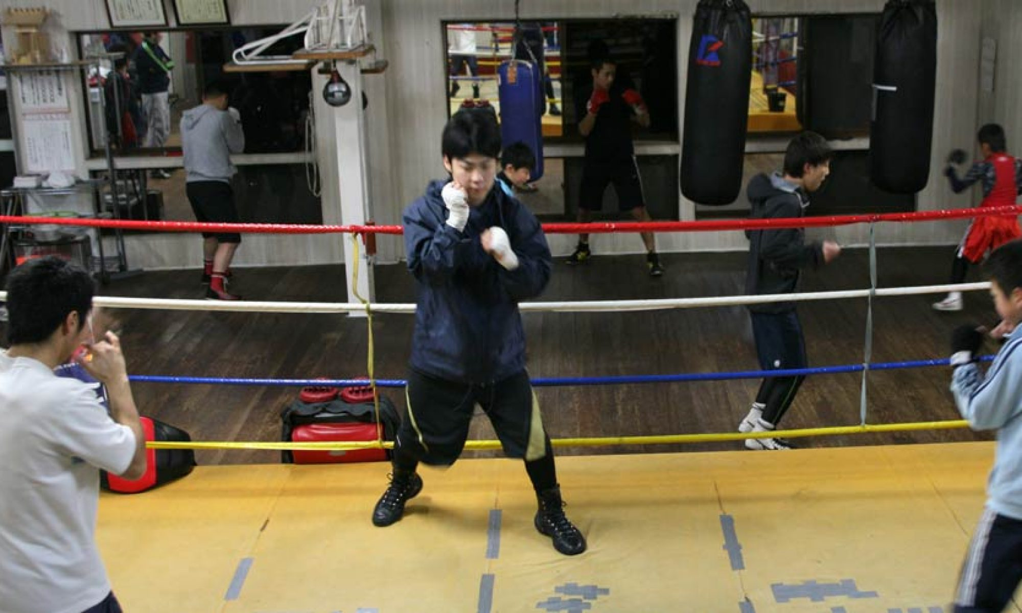 EMI BOXING CLUB NEWS